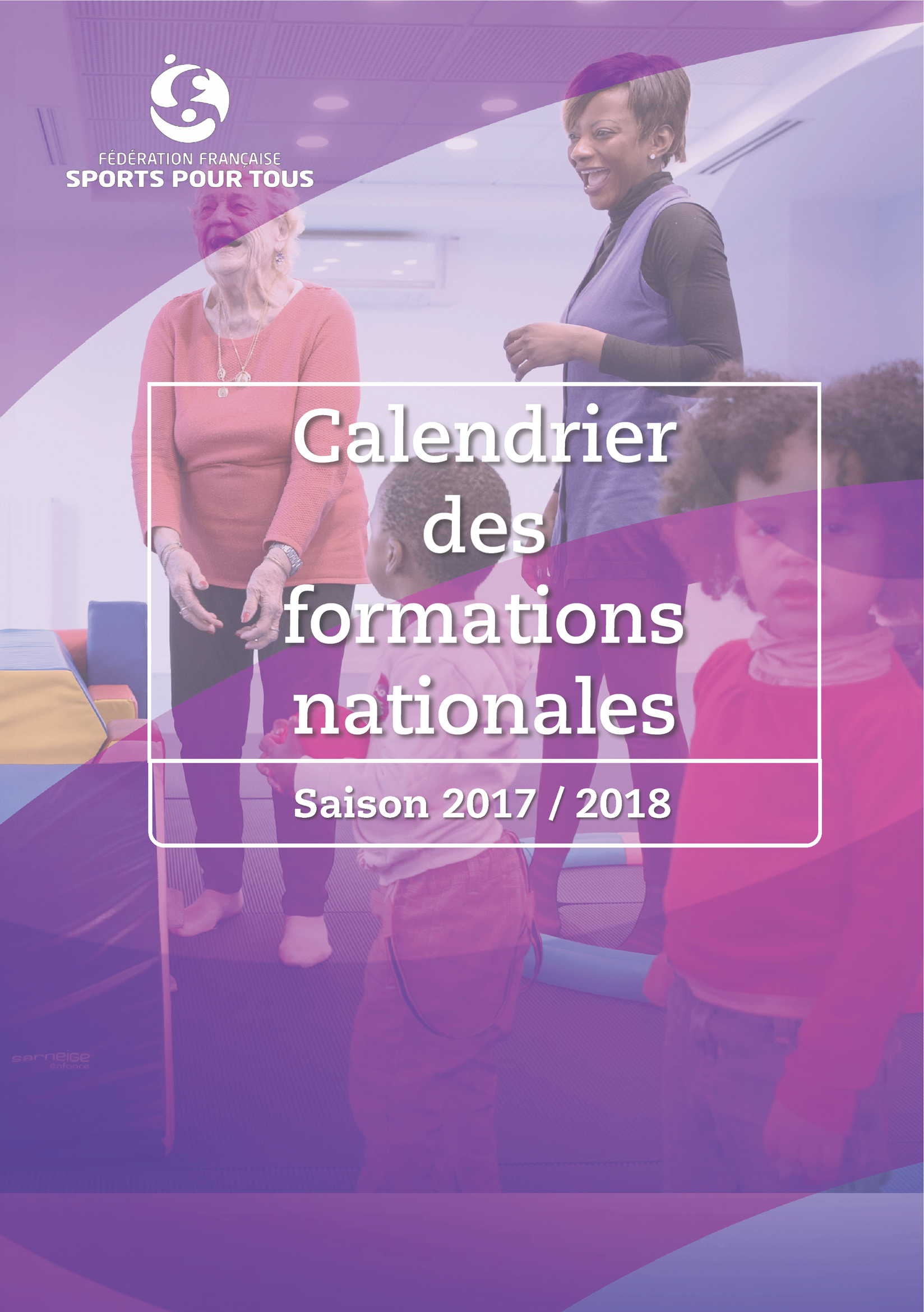 Calendrier des formations 2017/2018
